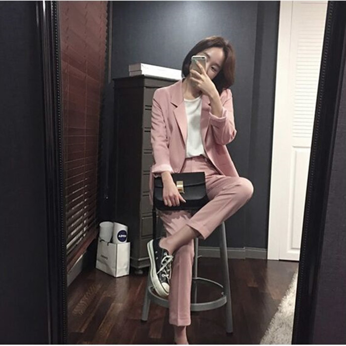 Pant Suits Women Casual Office Business Suits Formal Work Wear Sets Uniform Styles Elegant Pant Suits/Costumes for women
