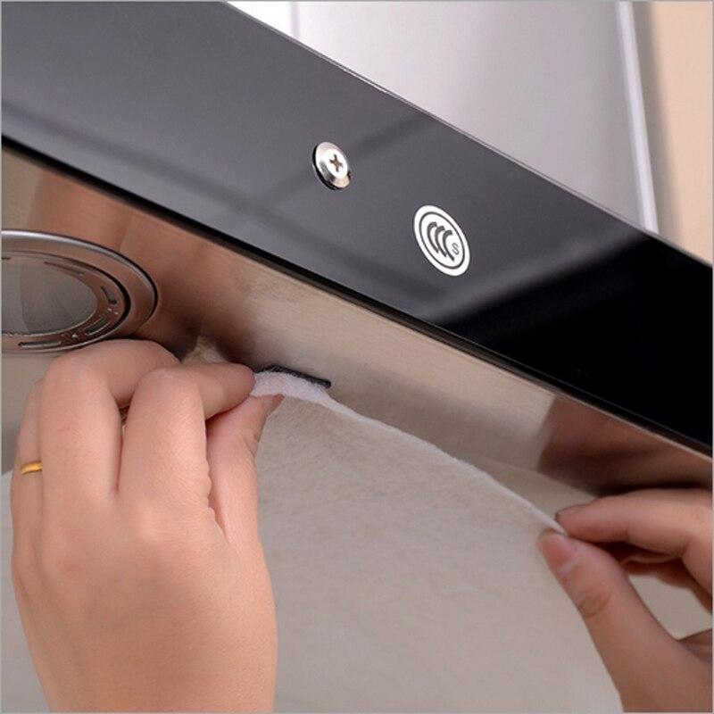 1 pz universale 45x60 cm cucina carta assorbente non tessuto anti olio filtri di cotone cappa