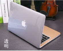 Crystal Clear Rubberized Hard Case Cover for Macbook Air 1115.4 Pro Retina 12  inch 13 Touch Bar Laptop Shell