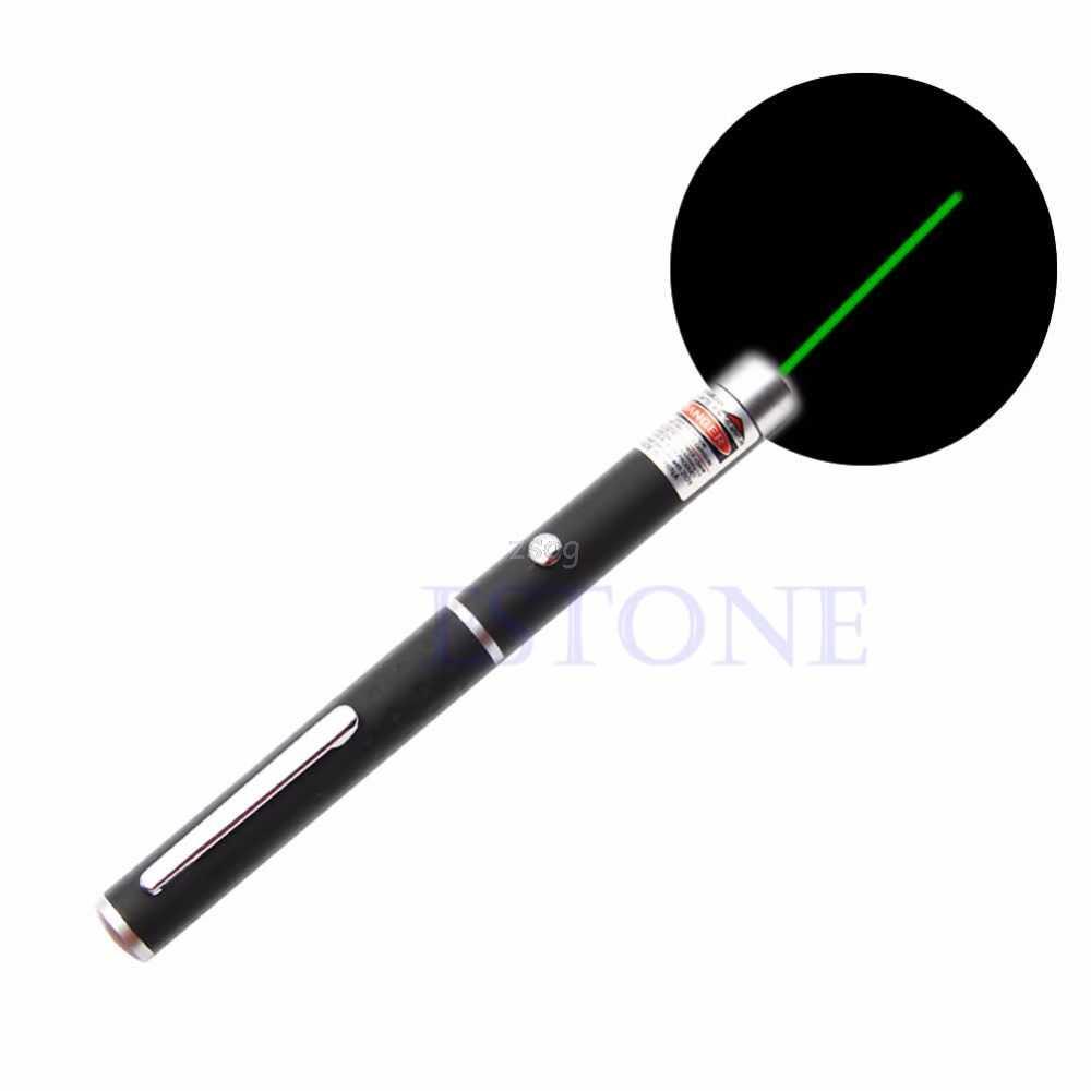 Лазерная указка ручка мощные красные, пурпурные, зеленые Видимые лучи света 5 мВт Lazer 650nm JUN01 Прямая поставка