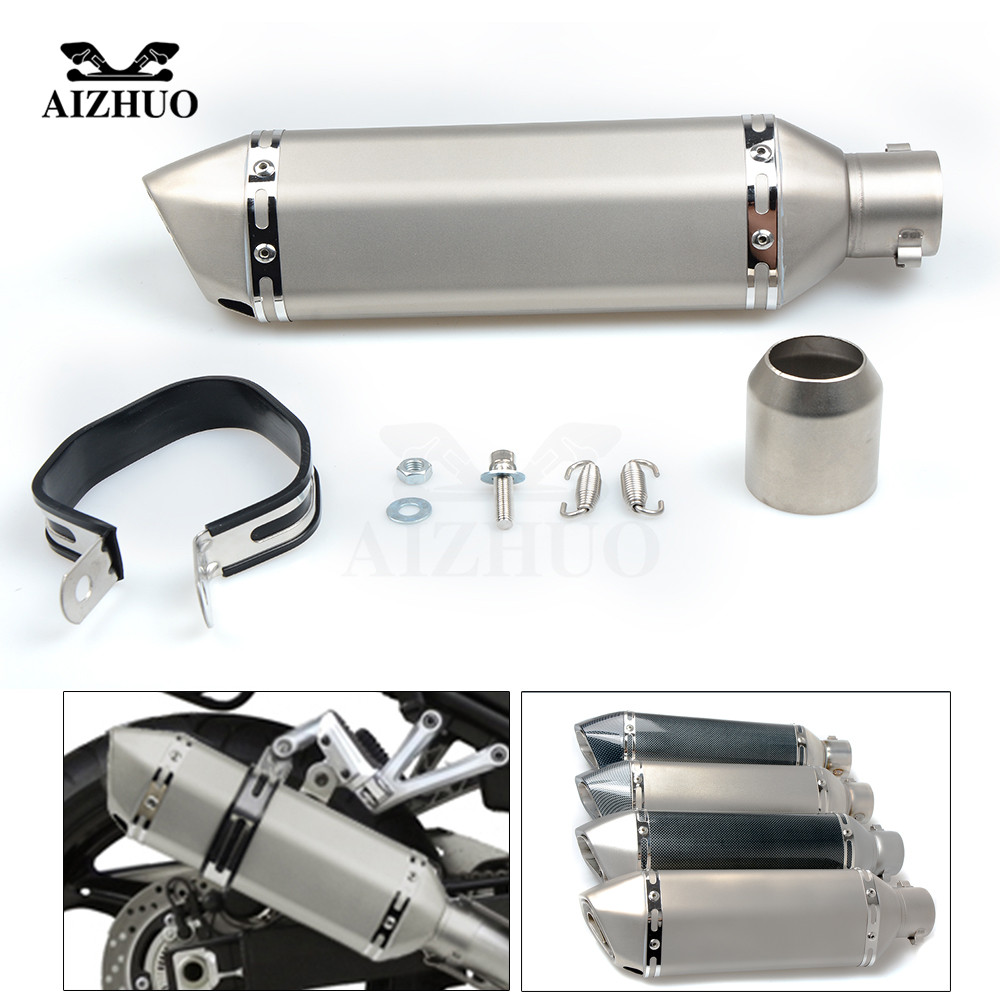 Motorcycle Exhaust pipe Muffler Escape DB-killer 36MM-51MM FOR BMW R1200R R1200RT R1200S R1200ST S1000R S1000RR C600Sport 2018 motorcycle damper steering stabilizerlinear reversed safety for bmw r1200r r1200rt r1200s r1200st s1000r s1000rr c600sport