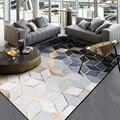 Модный современный абстрактный золотой черный серый бриллиантовый дверной коврик для ванной комнаты  кухонный коврик для гостиной  спальн...