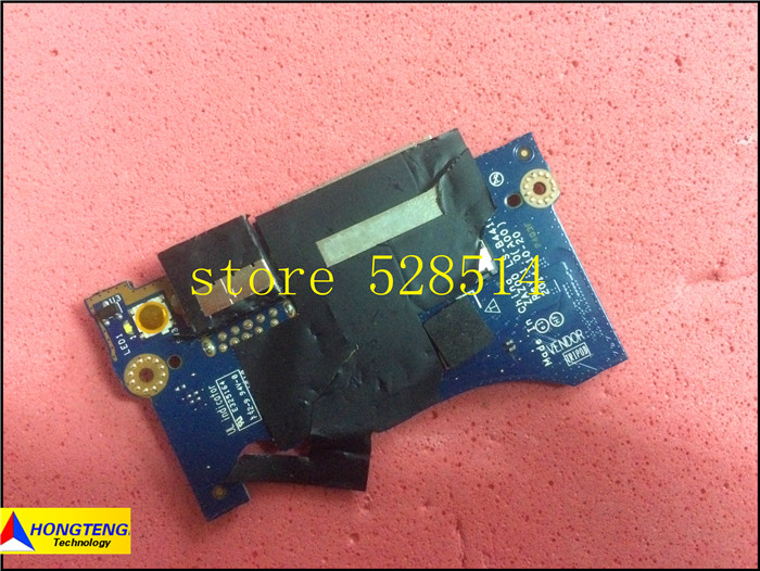 wholesale for Dell XPS 13 9343 USB Card Reader Power Button Board LS-B441P 05NJV CN-05NJV 5NJV 100% Test ok wholesale 10 1 for dell xps 10 xps10 cn