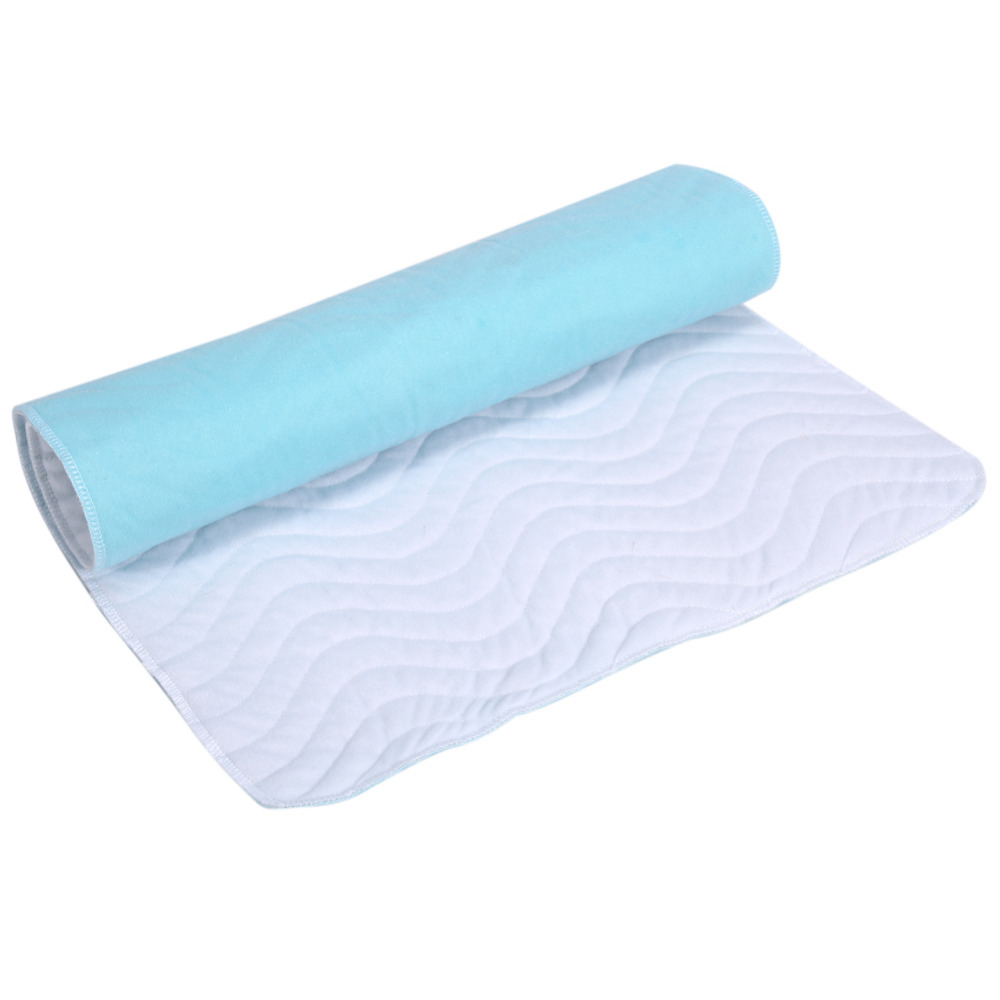 Reusable Urine Mat Washable Ultra Absorbent Diaper Adult Incontinence Pad Breathable Cloth Urine Mattress Adult Baby Nursing Pad(China)