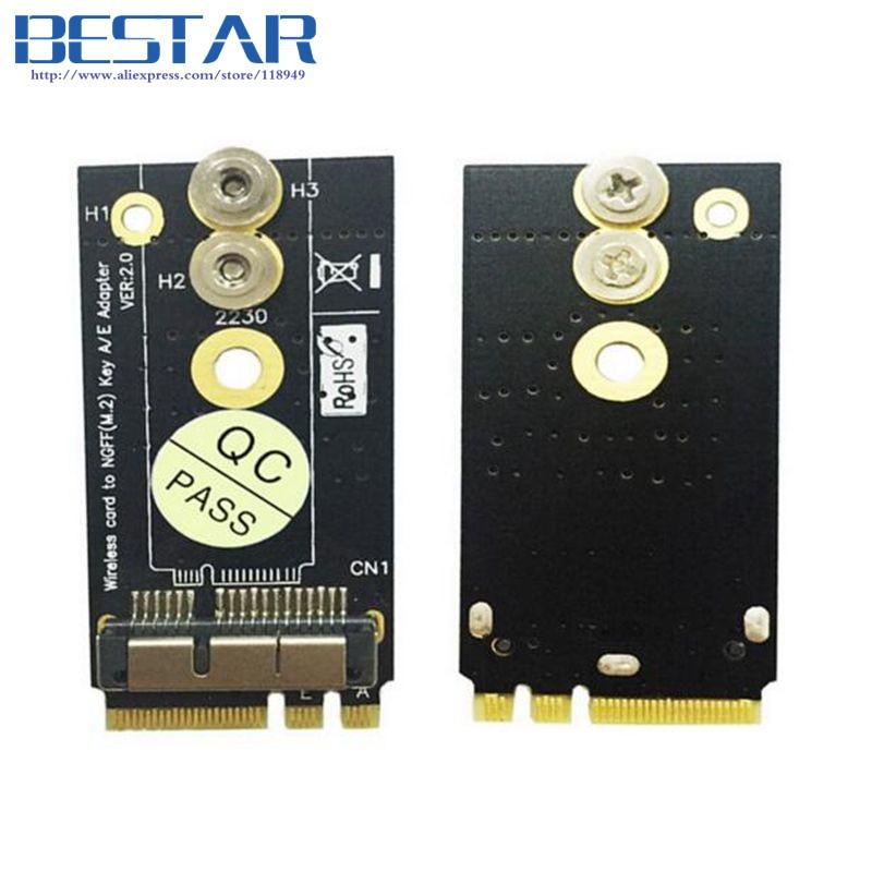 BCM94360CS2 BCM943224PCIEBT2 12+6 Pin WIFI wireless card module to NGFF M.2  JB