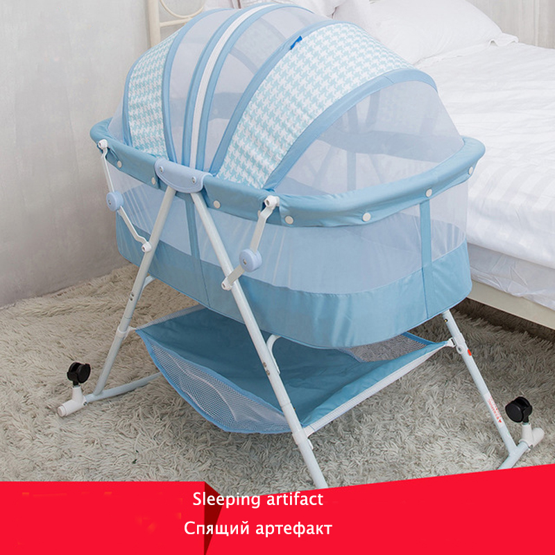 0-12 Months Baby Bed Bassinet Baby Bassinet Rocking Chair Folding Baby Bed Baby Crib Cradle