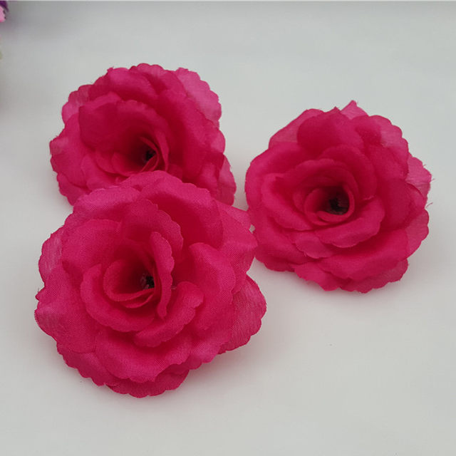 Online shop 10pcslot 8cm burgundy artificial flowers heads big rose 10pcslot 8cm burgundy artificial flowers heads big rose flower ball head brooch festival wedding decoration flower silk flower mightylinksfo
