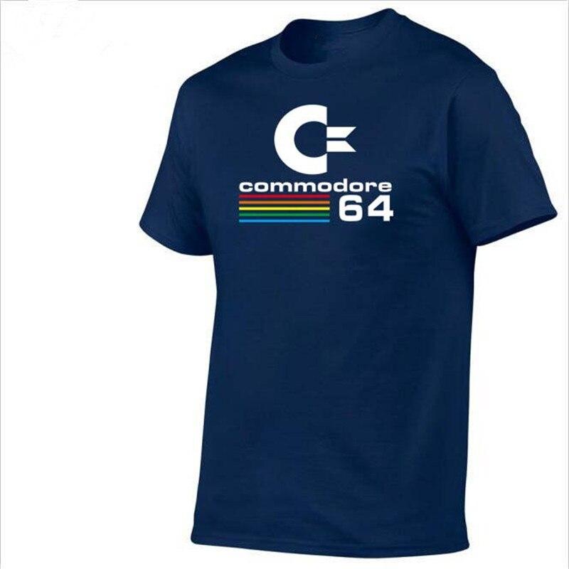Летние Commodore 64 Футболки C64 SID Amiga Ретро 8-бит ultra cool Дизайн винил футболка мужская Костюмы с короткий рукав футболки для девочек
