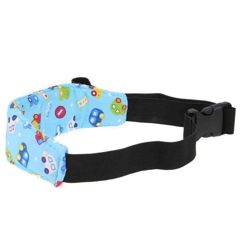 Segurança dormir cinta fixa cabeça de ajuda do bebê crianças carrinho de segurança assento de carro nap banda suporte cinto almofada macio grosso conforto