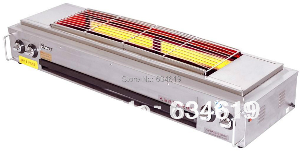 Super good quality wholesale bbq infrared gas grill, meat barbecue grill with blower, outdoor bbq stainless steel factory