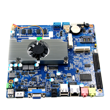 все цены на  X86 Industrial motherboard with SIM,2 Mini-PCIE,MSATA share with SATA2/4GB Ram  онлайн
