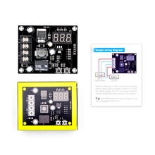 VHM-003 Charging Control Module Digital LED Display Storage Lithium Battery Charger Switch Protection Board 12-24V