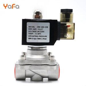 Image 3 - AC110V 220V 380V 24V DC12V 24V ,Normally closed, solenoid valve, 304 stainless steel, water valves,Moisture proof  diaphragm