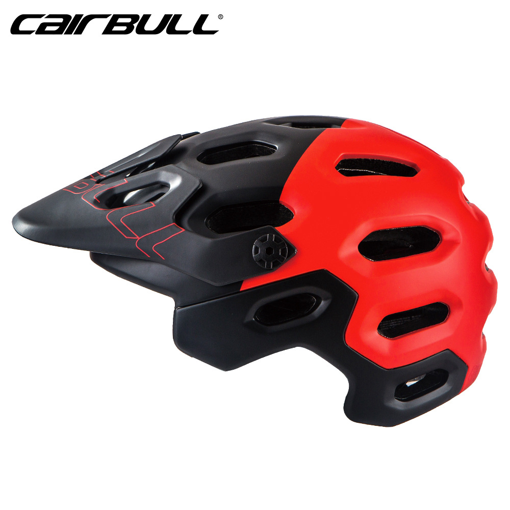 CAIRBULL MTB Road Cycling Helmet Breathable Ultralight Bike Riding Helmet Head Protection Integrally-molded Helmets Capacete
