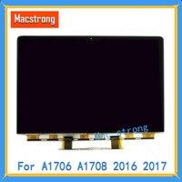 Новый оригинальный 13 ретина, жидкокристаллический стекло для MacBook Pro retina A1706 A1708 ЖК дисплей для ноутбука дисплей панели 2016 2017