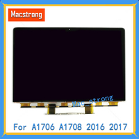 Brand New Original 13 A1706 LCD Screen Retina Glass For MacBook Pro Retina A1708 LCD Display Replacemet Panel Laptop 2016 2017