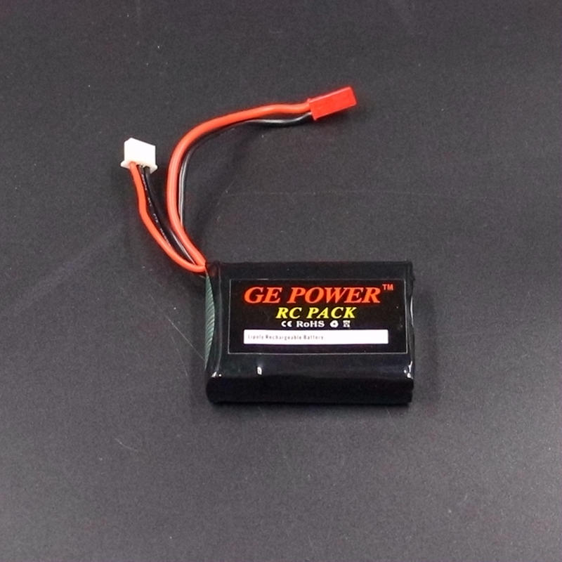 RC <font><b>Lipo</b></font> battery <font><b>2s</b></font> 7.4V <font><b>1000mAh</b></font> 15C for radio control transmitter toy aircraft car helicopter drone airplane boat image