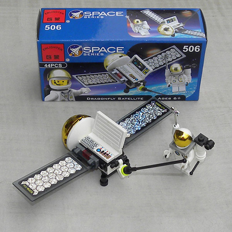 3 Styles Space Series Building Blocks Observation Vehicle Space Shuttle Astronaut Construction Kids Toys For Children Gifts