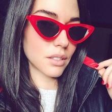 Фотография OFIR Sexy Cat Eye Sunglasses 2018 New Fashion Triangle Small Size Modern Retro Designer Women Sun Glasses Shades for Lady YD-20