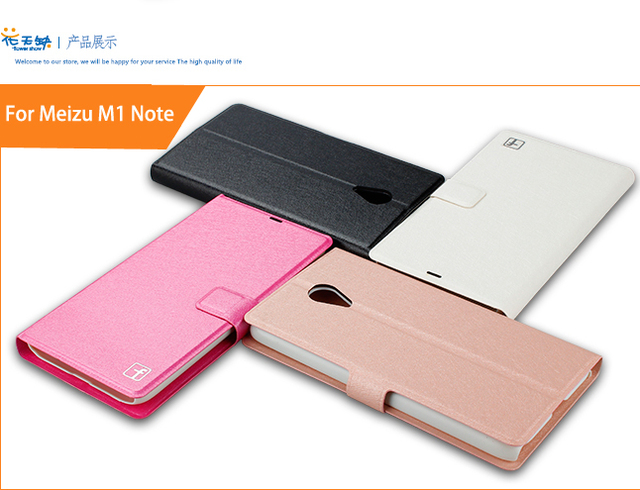 For Meizu M1 Note Case Luxury Leather Stand Case Cover For Meizu M1 Note Book Style Cover For Meizu M1 Note With Card Holder