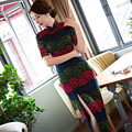 Maxi Dress Embroidered Hollow High Split Long Sleeve Cheongsam New Slim Retro Daily Cheongsam See Though Club Using Dress 1650