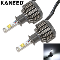 KANEED H3 LED Bulbs 2pcs 30W 3600 LM 6000K IP68 Waterproof Car Headlight With 2 Lamps