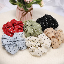 1pcs New Women Hair Accessories Fashions Ponytail Holder Flower Scrunchies Pack Ties Elastics Bands for Girls