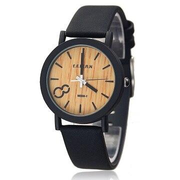 2018 New Scale Dial Leather Strap Casual Fashion Exquisite Precision High-end Men's Quartz Watch