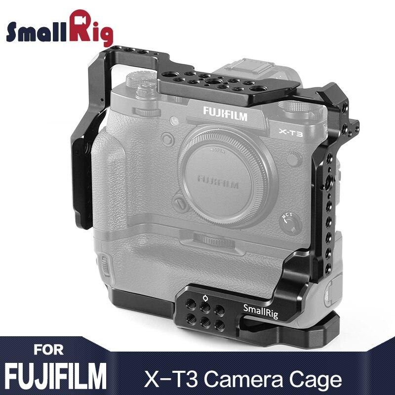 SmallRig DSLR Caméra Cage pour Fujifilm X-T3/pour Fujifilm X-T2 Caméra avec Batterie Grip Livraison Gratuite 2229