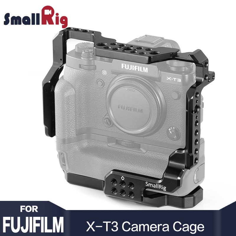 SmallRig DSLR Camera Cage for Fujifilm X-T3 Camera with Battery Grip Free Shipping 2229