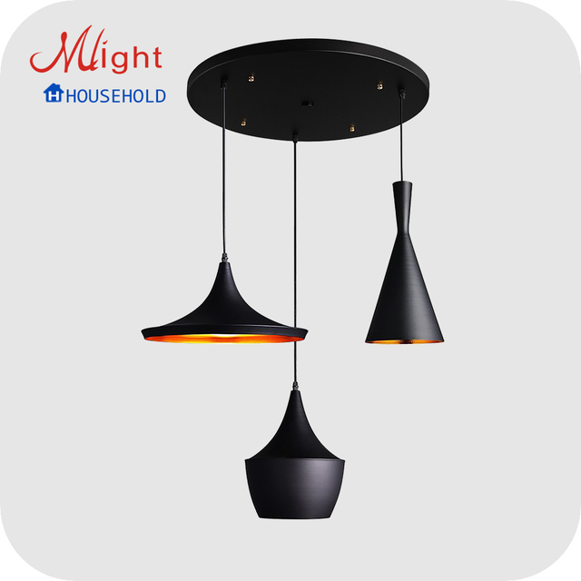 Modern Country US Style Pendant Light Dining Room Aluminum Pendant Lamps For Home Store & Bars