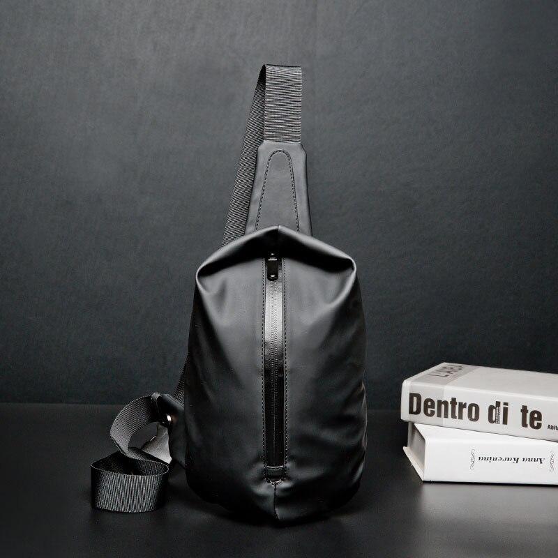 Men Bags Sling-Bag Package-Pack Satchel Travel Nylon Black Small Male Waterproof Portable
