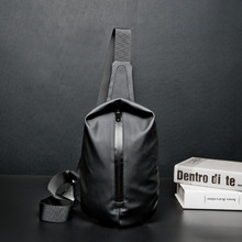 Waterproof Black Nylon Male Chest Bag Men Bags Sling Bag Satchel Yob Portable Slant Package Pack Travel Male Small Messenger Bag