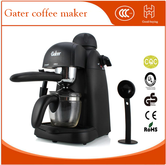 Semi Automatic Coffee Maker Espresso Machine with Froth Milk Housing for Home italy espresso coffee machine semi automatic maker cup warming plate kitchen