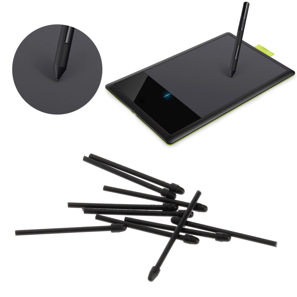 10Pcs Graphic Drawing Pad Pen Nibs Replacement Stylus for Intuos 860/660 Cintiq 5