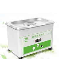 220V Ultrasonic Cleaner Small Home Wash Contact Lens Watch Fountain Pen Jewelry Rings Dentures Household Using GoodQuality