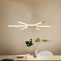 Creative personality Modern white LED pendant lights living room pendant Lamp fixtures for dining room bedroom kitchen office