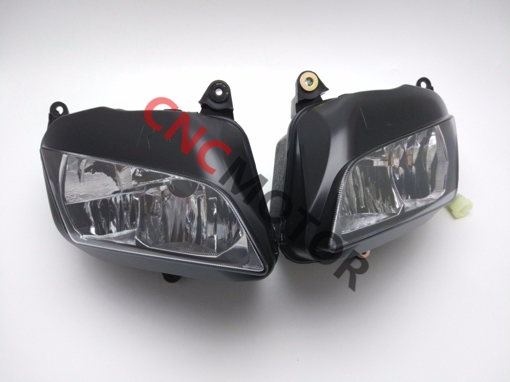 Headlight Assembly Headlamp Cover For Honda CBR600RR 2007 2008 CBR 600 RR F5 07 08 right combination headlight assembly for lifan s4121200