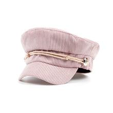 VORON hot venda nova inverno mulheres chapéus moda cap boina unisex boa  qualidade homens da marinha 3fe897ab613