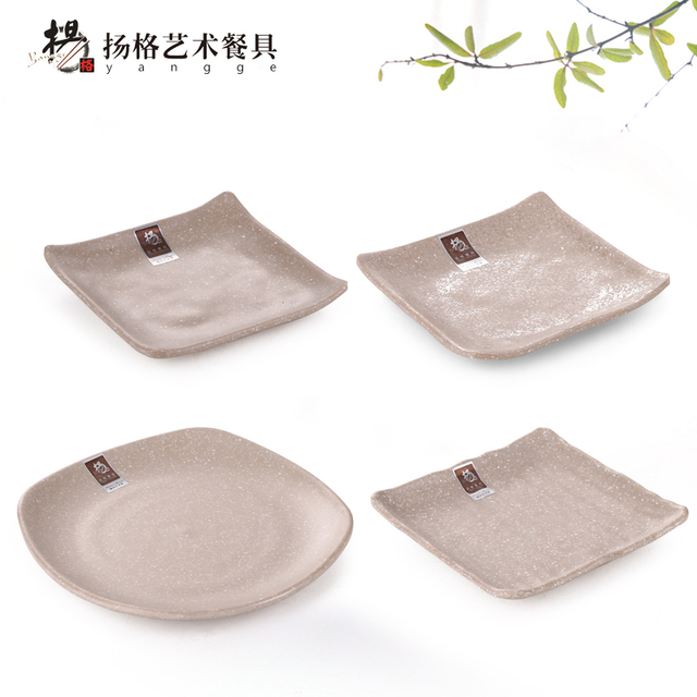 2018 New Chinese Traditional Plates Dishes Round Square Home Restaurant Melamine Frost Tableware Food sweets Plate  sc 1 st  AliExpress.com & 2018 New Chinese Traditional Plates Dishes Round Square Home ...