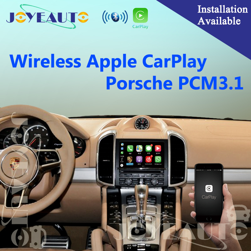 Aftermarket OEM PCM 3.1 Sem Fio Da Apple CarPlay Retrofit para 2010-16 Porsche Cayenne Panamera Macan Boxster Cayman 911 Carro jogar