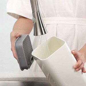 Image 5 - Huohou cuisine support de couteau porte outil multifonctionnel porte outil bloc de couteaux tables de cuisson Tube étagère Chromorphous