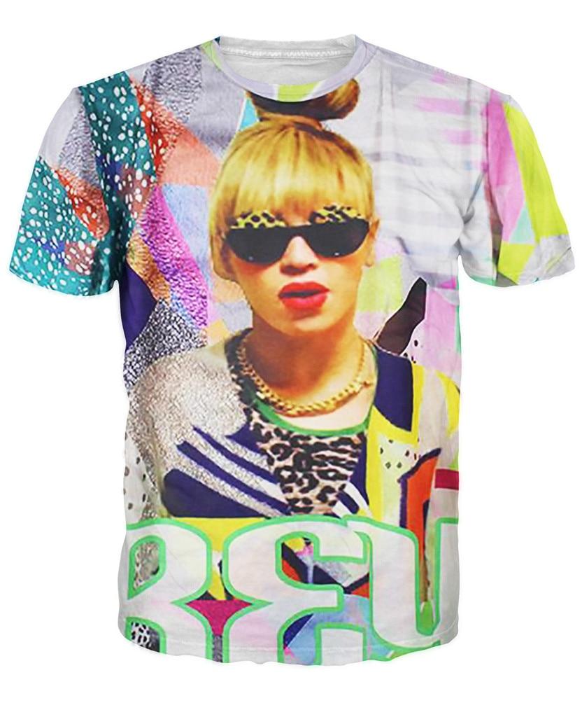 Shirt design price - Bae Yonce T Shirt Super Neon 80 S Beyonce Design 3d Print T Shirt Summer