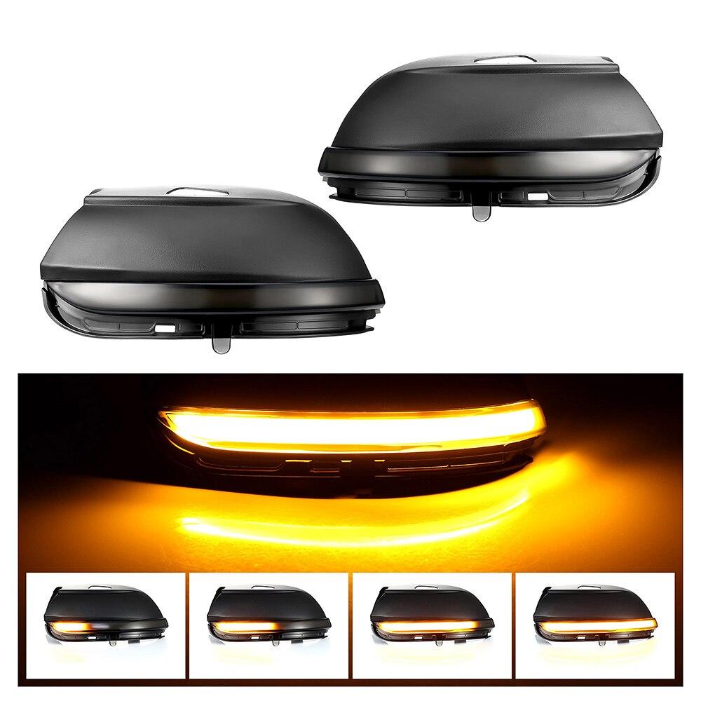 Side Mirror Light lamps Dynamic LED Blinker Car Turn Signal Light Sequential Mirror Turn Lamp for VW Scirocco MK3 Passat B7 CC