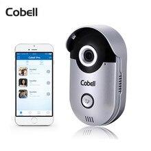 Cobell Smart Door Intercom 720P HD Video Door Phone Wireless WIFI Doorbell Remote Unlock Waterproof IP66 IR-Cut Night Vision