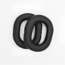 Protein Leather Around Ear Pads For Panasonic Rp -htx7 Htx7a Htx9 Headset Replacement Set Cotton Sponge Earmuff Eh#