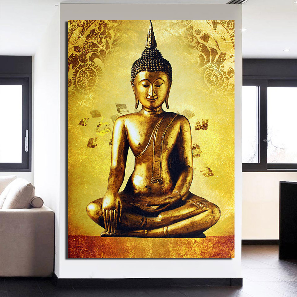Buy golden buddha art and get free shipping on AliExpress.com