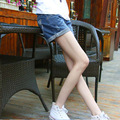 A sells Jeans Shorts summer MM slim leg jeans shorts female Han wind models