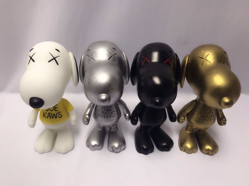 4 styles New arrival ! 8 inch kaws Original Fake dog toy great gift for boyfriend PVC Action Figure fashion toys new kaws original fake joe kaws dog medicom toy gift for boyfriend kaws original fake