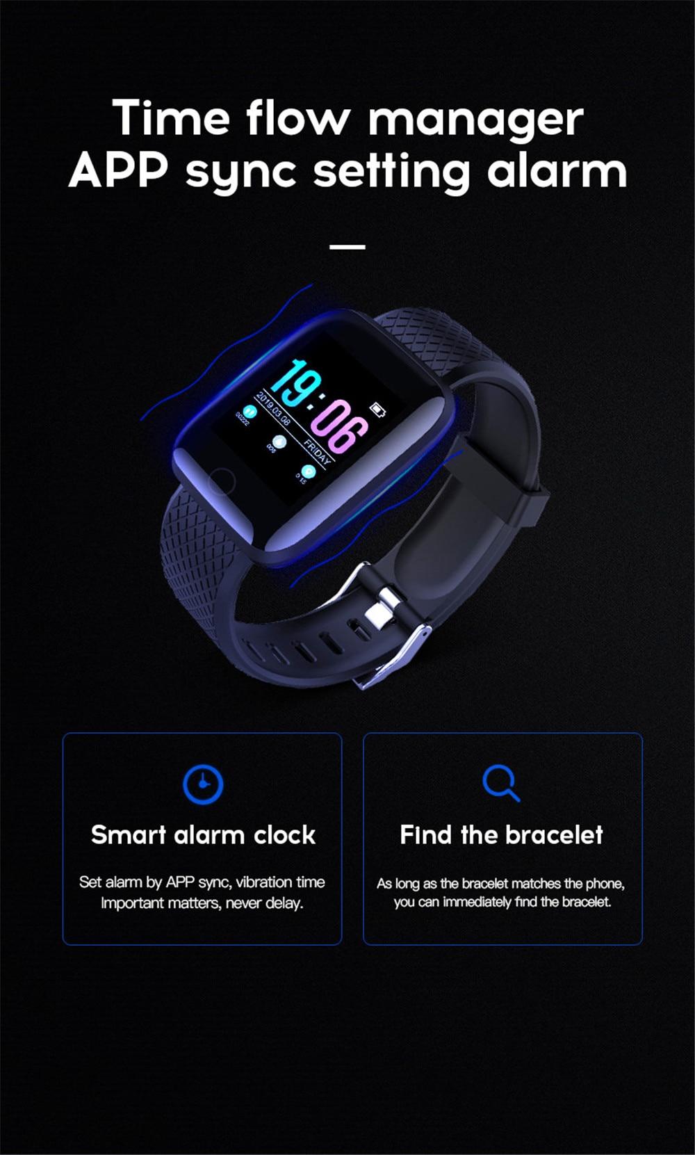 18-130435- Smart Watch Men Blood Pressure Waterproof Smartwatch Women Heart Rate Monitor Fitness Tracker Watch GPS Sport For Android IOS